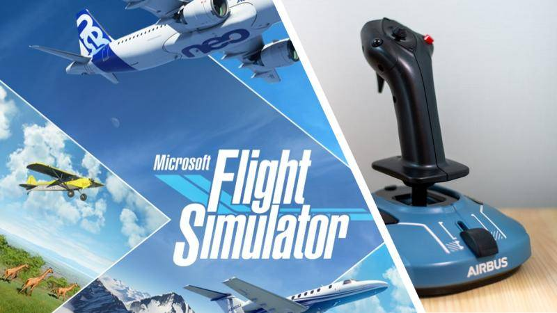 📢 Microsoft Flight Simulator is even better with this Airbus flight stick