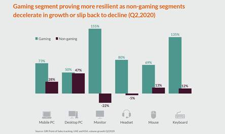 🚩 Gaming software for PC and console registered +7% growth in UAE and KSA